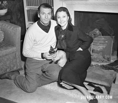 Laurence and Vivien Leigh