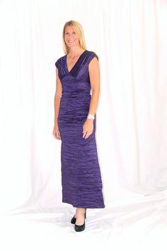Purple Rain Gown