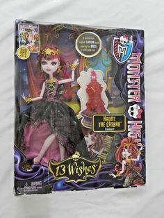 New Monster High 13 Wishes Haunt the Casbah Draculaura Doll NIB   #Mattel