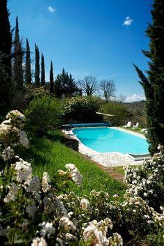 Urlaub auf einem Weingut in der Toskana: Hotel Borgo Casa al Vento, Gaiole in Chianti, Italien | Escapio