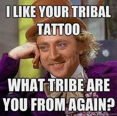 Tribe tattoo