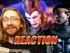 MAX REACTS: Mortal Kombat X Story Mode/Character Reveals