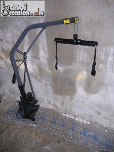 grue de coffre pour fauteuil roulant