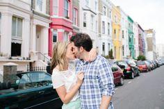 Notting Hill Engagement Shoot
