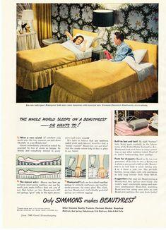 1940s Sears furniture ad | Mid-Century Modern | Pinterest ...