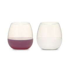Look what I found at UncommonGoods: silicone wine glass set... for $19.98 #uncommongoods