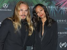 Twinsies: Zoe Saldana Pregnant, Expecting Twins With Hubby Marco Perego | Life & Style