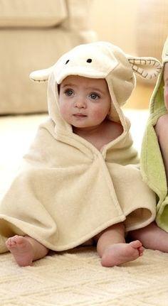 Kuzu Banyo Havlusu (Lamb Bath Towel) Bebedeko'da kuzu banyo havlusu, banyo sonrası bebeğinize çok yakışacak.