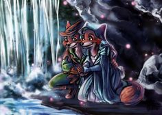 CC: Robin Hood and Maid Marian by *MistyTang on deviantART