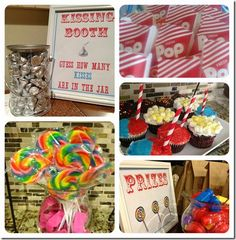 DIY Carnival Party Games, Treats, Printables and more!