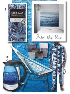 Into the blue trends by bthings. 2015 Trends, Blue
