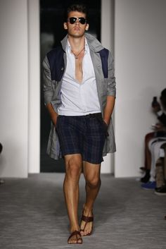 There's nothing not to love about Michael Bastian Men's RTW Spring 2013.