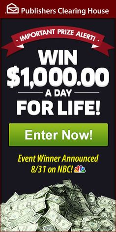 Sweepstakes clearinghouse package