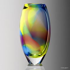 "Royal Leerdam kristal ""Rainbow"""