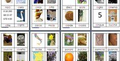 Nomenclature Montessori: schede per le difficoltà ortografiche CI
