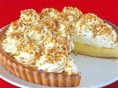 Flan, Creme Patissiere Chantilly, Sweet Recipes, Cake Recipes, Thermomix Bread, Angel Cake, Bread Cake, Banana Cream, Lemon Curd
