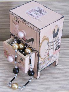 Ékszertartók fa dobozkából / New Jewelry box | M H W handmade