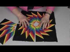 Cheryl Phillips April Striped Spinner - YouTube