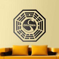 Adesivi Murali: Dharma Initiative Lost #tv #decorazione #deco #StickersMurali