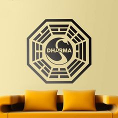 Adesivi Murali: Dharma Initiative Lost #tv #decorazione #deco #StickersMurali
