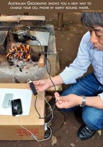 Genius Ideas- Boiling water charger