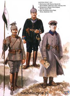 The German army on the eastern front in 1915