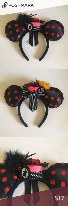 Disney Pirate Minnie Ears Disney Pirate Minnie Ears Disney Accessories Hair Accessories