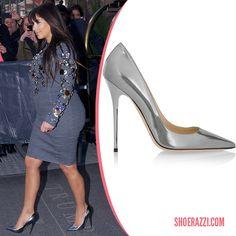 5b51351b43b0 Kim Kardashian in Jimmy Choo Anouk Pumps Kardashian Shoes