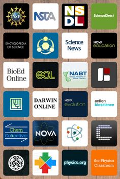 Collection of science resources for middle and high school teachers Chemistry physics biology Apps videos references and much High School Chemistry, Teaching Chemistry, High School Biology, Middle School Science, Ap Biology, Stem High School, Science Chemistry, Life Science, Science Lesson Plans