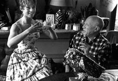 When Brigitte Bardot met Pablo Picasso in 1956, she was 21 and he was 74. Picasso had a long and successful career as an artist behind him, and Bardot had already made 17 films