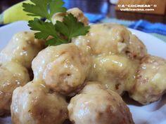 ¡¡A COCINEAR!!: ALBÓNDIGAS DE LA ABUELA Mexican Food Recipes, Beef Recipes, Ethnic Recipes, Albondigas, Spanish Food, Churros, Flan, Potato Salad, Potatoes