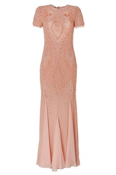 EMILIO PUCCI Silk Embellished Gown