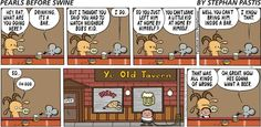 Oh, great. Pearls Before Swine Comic Strip, June 08, 2014 #helmiäsioille