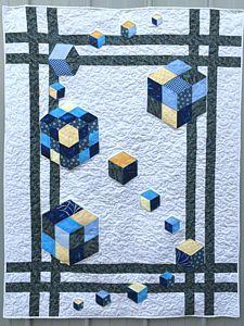 179 Best 3D Quilts images in 2019 | 3d quilts, Quilt Patterns