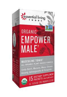 Masculine Tonic — Activating and revitalizing superfood boost. We brought together some very complementary plants to create adaptogenic blend:  Maca is a hormone balancer, energy booster, and libido equalizer. Cordycep mushrooms increase athletic performance, sex drive, and vitality.