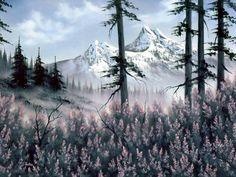 Bob Ross #Bob_Ross #Mountain_Blossoms Dana Jester-#Happy_Trees!