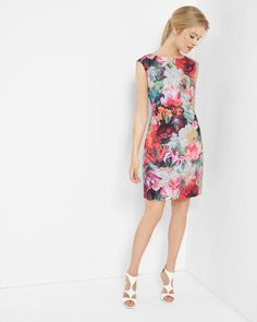 Discover Ted Baker's collection of stunning designs, from day and evening dresses, to signature, statement pieces to help create your show-stopping look. 1950s Style, Simple Dresses, Casual Dresses, Dresses For Work, Robe Fuchsia, Jw Mode, Ted Baker, Plus Size Bridesmaid, Floral Bridesmaids
