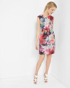 Floral Swirl tunic dress - Fuchsia | Dresses | Ted Baker