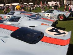 GT40s at 2013 Amelia Island Concours