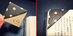 origami bookmark top for marking pages or sections in a bullet journal #bujo