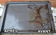 How to easily clean a very dirty oven plate with natural tips Deep Cleaning Tips, Green Cleaning, House Cleaning Tips, Diy Cleaning Products, Spring Cleaning, Cleaning Hacks, How To Remove Kitchen Cabinets, Cleaning Cabinets, Oven Plate