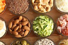 Brotbasis-Zutaten zum Backen