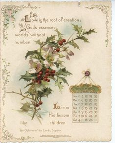 THE LONGFELLOW CALENDAR FOR 1897.