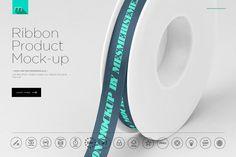 Ribbon Mock-up  @creativework247