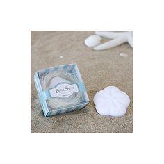 Jabón concha de mar con caja+cordel.