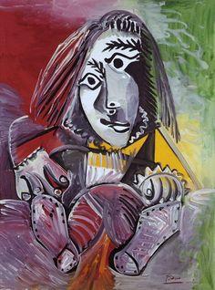 Pablo Picasso - L'adolescent, 1969.