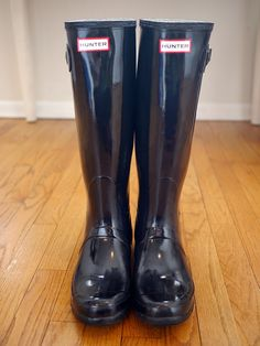 Kristina does the Internets: How to clean Hunter Boots the DIY Way