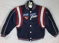 Disney Store Cars Lightning McQueen Boys Racing Jacket Size XS Navy Blue Coat | eBay