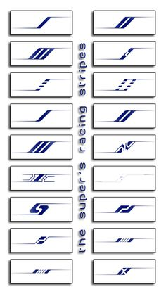 The Super's Racing Stripes by thesuper on DeviantArt