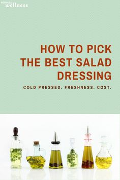 See how the oils stack up plus a recipe for DIY salad dressing | Rodale Wellness